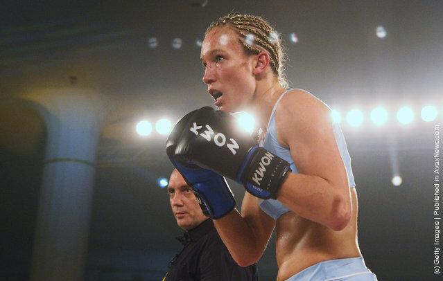 German kickboxer Christine Theiss