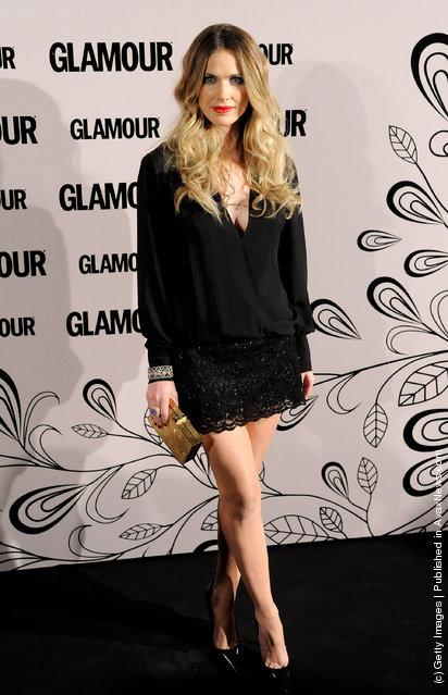 Spanish actress Vanessa Romero attends Glamour beauty awards 2012 at Pacha Club