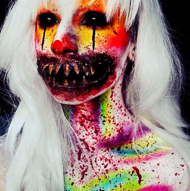 Stephanie Fernandez's mind-blowing make-up art. (Photo by Instagram.com)