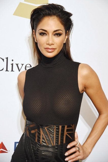 Singer Nicole Scherzinger attends the 2017 Pre-GRAMMY Gala And Salute to Industry Icons Honoring Debra Lee at The Beverly Hilton Hotel on February 11, 2017 in Beverly Hills, California. (Photo by Jeff Kravitz/FilmMagic)