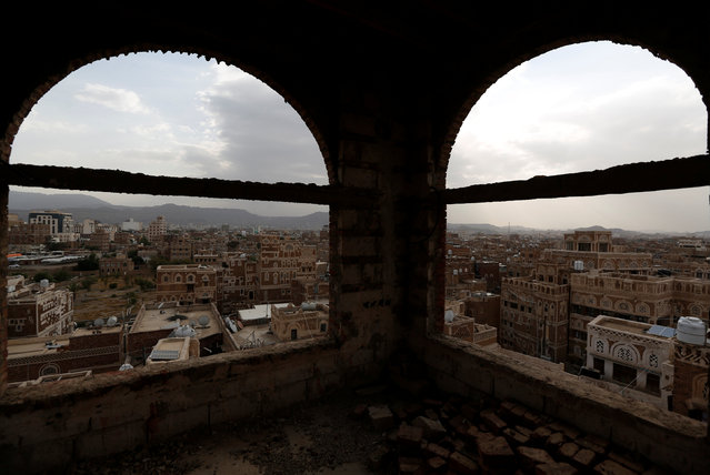A view shows the Old City of Sanaa, Yemen, July 11, 2016. Picture taken July 11, 2016. (Photo by Khaled Abdullah/Reuters)