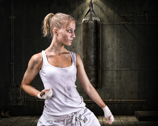 Karate. (Photo by Geir Akselsen)