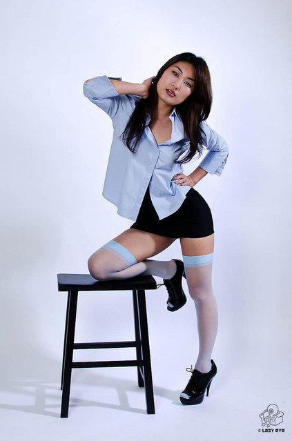 s*xy Asian Beauty. Office Lady