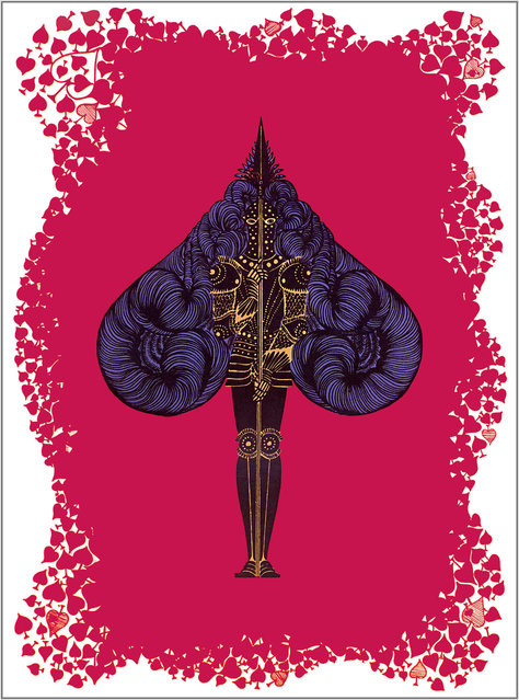 Romain de Tirtoff (Erte) – The Aces: Spades