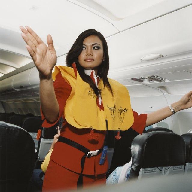Roshayati, Air Asia, 2006. (Photo by Brian Finke/The Washington Post)