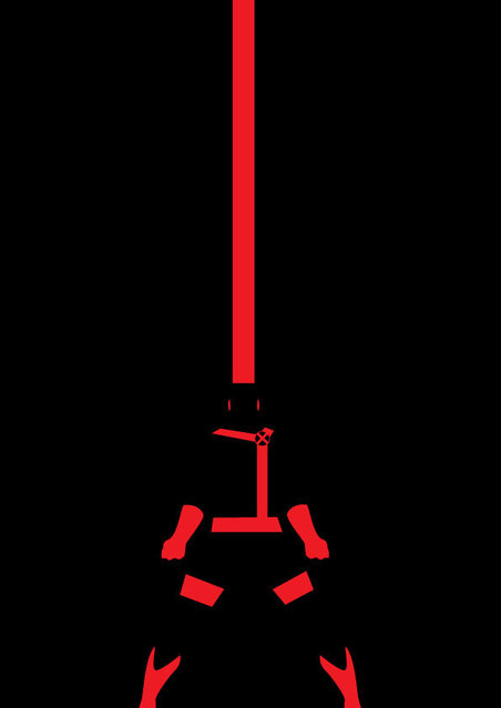 Super Hero Minimalist Posters By Michael Turner Part 2