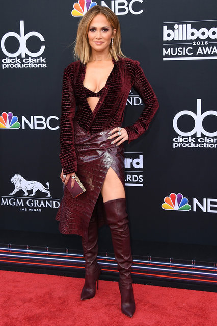 Recording artist Jennifer Lopez attends the 2018 Billboard Music Awards at MGM Grand Garden Arena on May 20, 2018 in Las Vegas, Nevada. (Photo by Jon Kopaloff/FilmMagic)