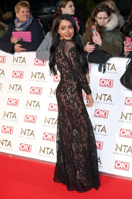 Marnie Simpson attends the National Television Awards at The O2 Arena on January 25, 2017 in London, England. (Photo by Fred Duval/FilmMagic)