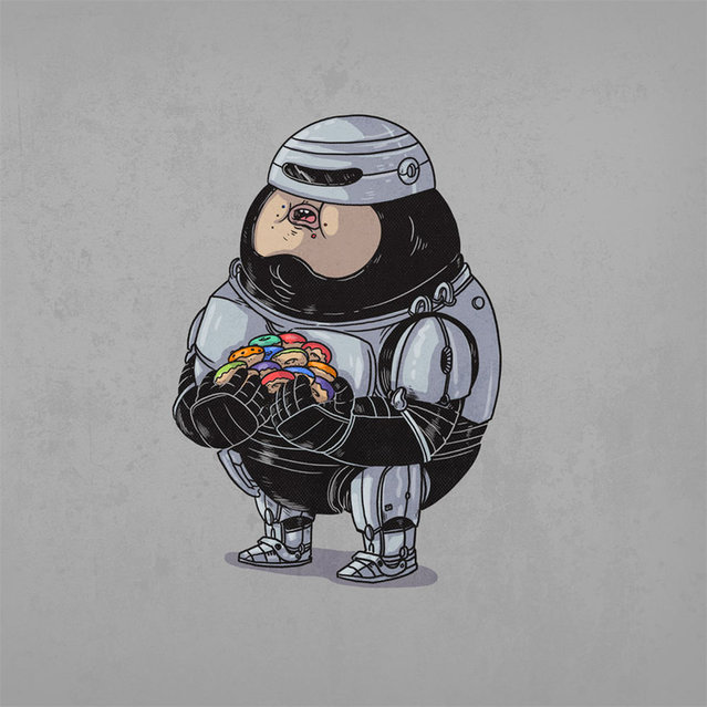 Fat Pop Culture Characters By Alex Solis Part 3