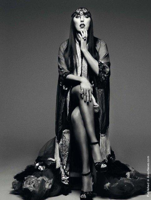 Laura Ponte, Bimba Bose, Vanesa Lorenzo and Rossy de Palma for «Harper's Bazaar» Spain April 2012