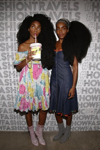 TK Quann and Cipriana Quann attend Lexus Lounge at MADE Milk Studios on September 8, 2016 in New York City. (Photo by Donald Bowers/Getty Images for Lexus)