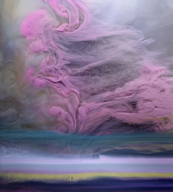Colorful Smoke By Kim Keever