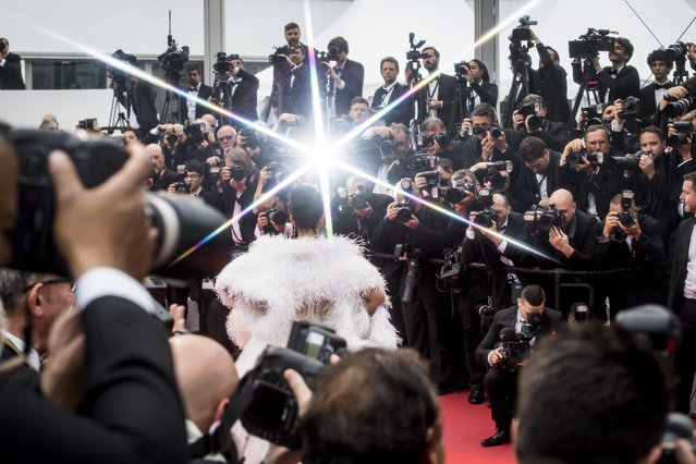 """Aishwarya Rai attends the screening of """"La Belle Epoque"""" during the 72nd annual Cannes Film Festival on May 20, 2019 in Cannes, France. (Photo by Gareth Cattermole/Getty Images)"""
