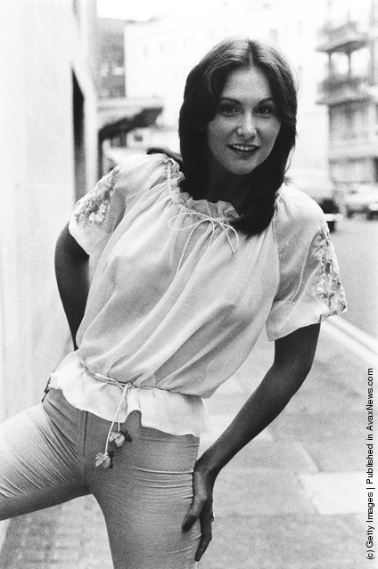 American pornographic actress Linda Lovelace (1949 - 2002), 26th June 1974
