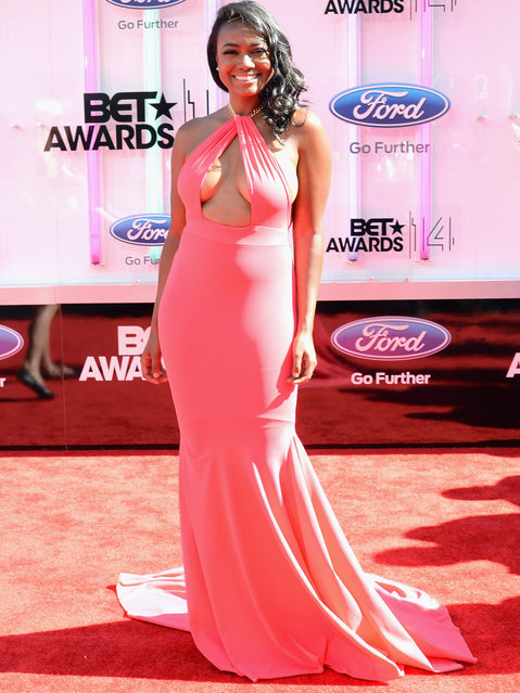 Actress Tatyana Ali attends the BET AWARDS '14 at Nokia Theatre L.A. LIVE on June 29, 2014 in Los Angeles, California. (Photo by Earl Gibson III/Getty Images for BET)