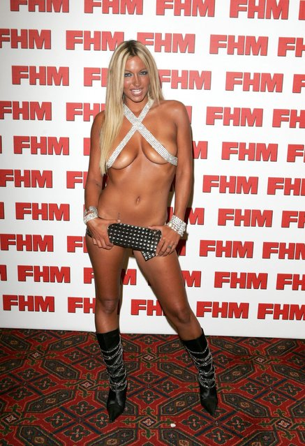 Jodie Marsh Attends The Fhm Magazine'S 100 Sexiest Women Party In London, England on  June 3, 2004. (Photo by Rex Features/Shutterstock)
