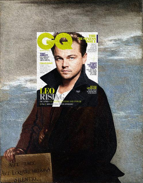 Quirky Magazine covers: Leo and Salvator. (Photo by Eisen Bernard Bernardo/Caters News)