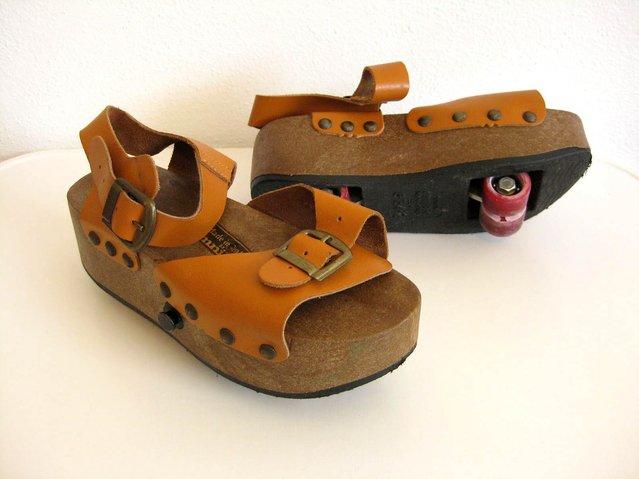 Old Roller Skate Sandals