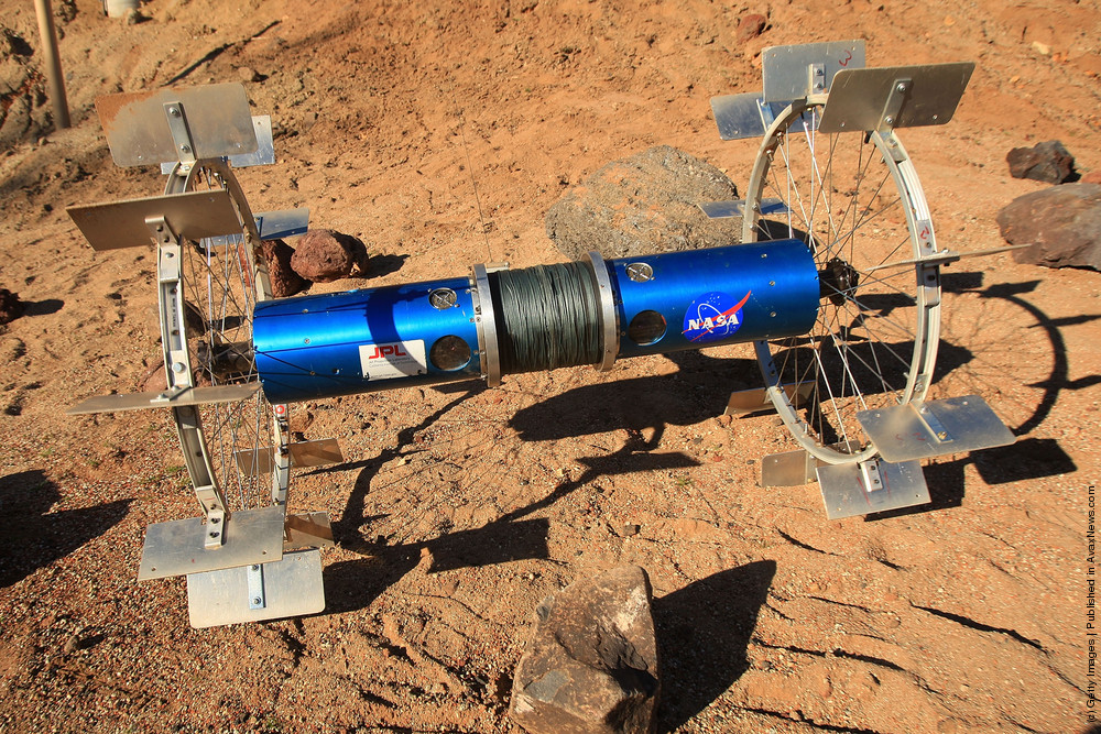 Prototype Rover For Lunar And Mars Missions