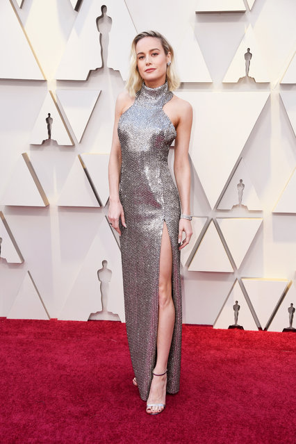 Brie Larson attends the 91st Annual Academy Awards at Hollywood and Highland on February 24, 2019 in Hollywood, California. (Photo by Frazer Harrison/Getty Images)