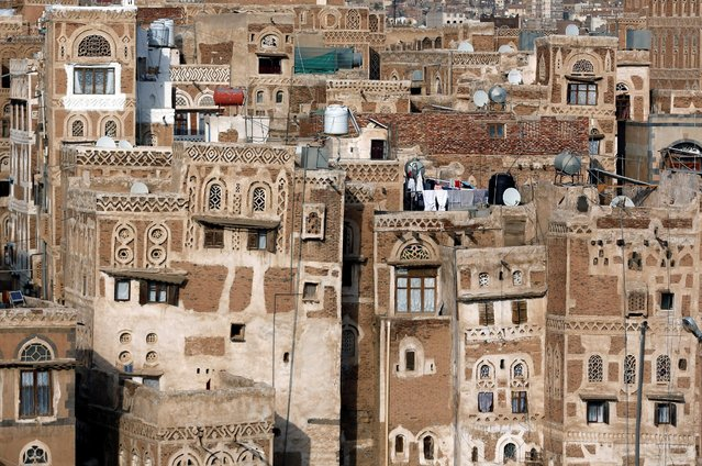 Buildings stand in the Old City of Sanaa, Yemen, July 11, 2016. (Photo by Khaled Abdullah/Reuters)