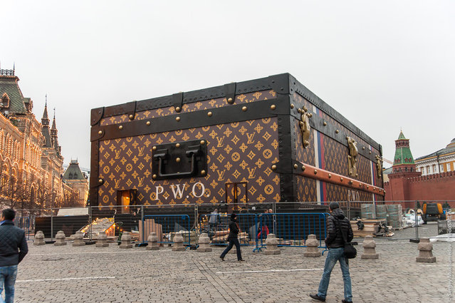 Louis Vuitton Red Square