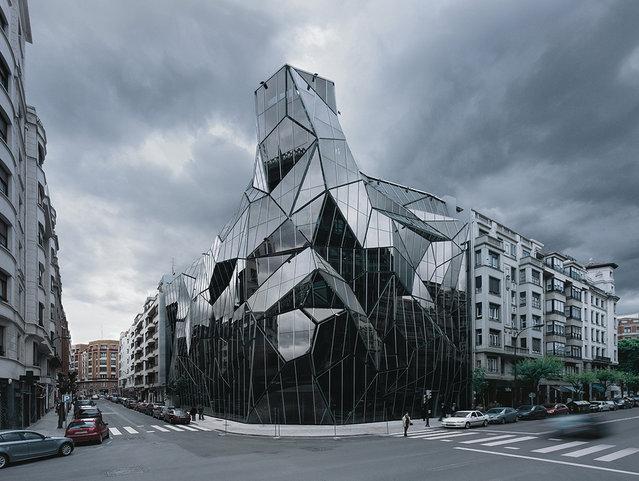 Basque Health Department Headquarters In Bilbao