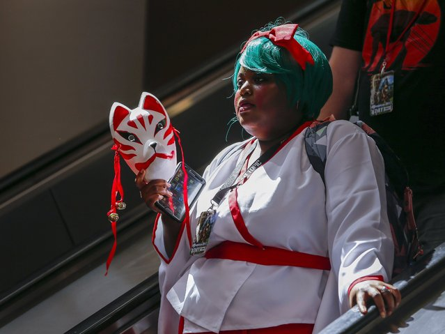 Cosplayer Kiana Luster participates in the Momocon gaming and anime convention in Atlanta, Georgia, USA, 26 May 2017. (Photo by Erik S. Lesser/EPA)