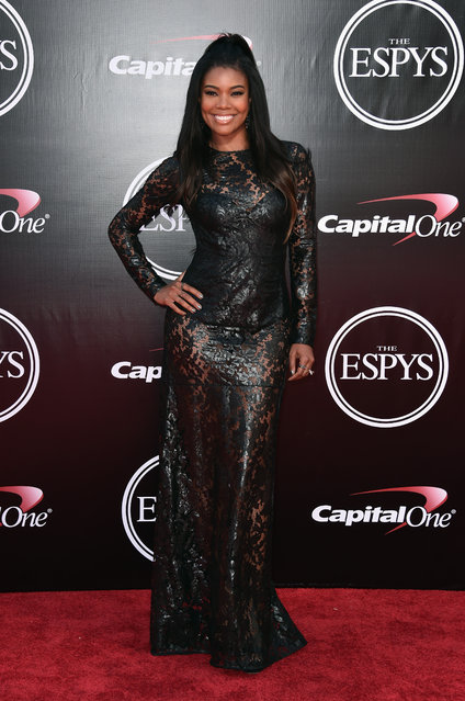 Actress Gabrielle Union attends the 2016 ESPYS at Microsoft Theater on July 13, 2016 in Los Angeles, California. (Photo by Alberto E. Rodriguez/Getty Images)