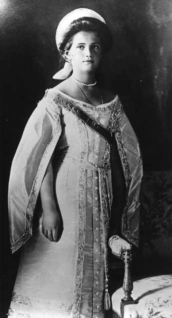 The Grand Duchess Marie (1899–1918), daughter of Tsar Nicholas II, circa 1915.