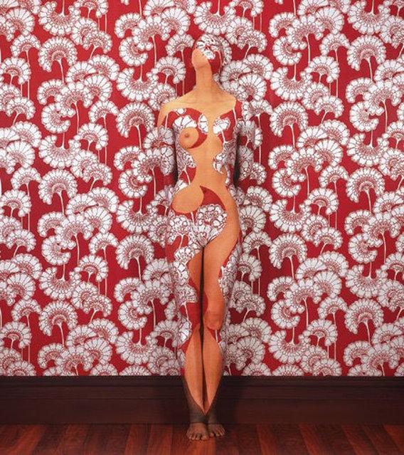 Emma Hack Takes Body Art