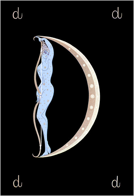 Romain de Tirtoff (Erte) – The Alphabet: Letter «D»