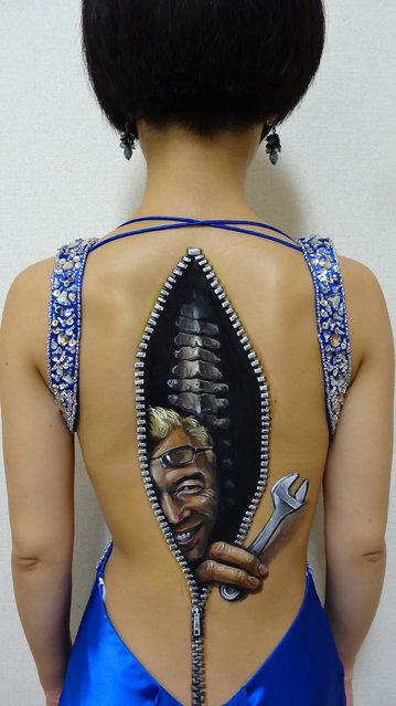 Body Art Illusions by Chooo-San