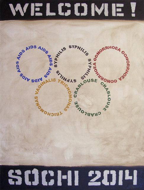 The Dark Side of Sochi Olympics by Vasily Slonov