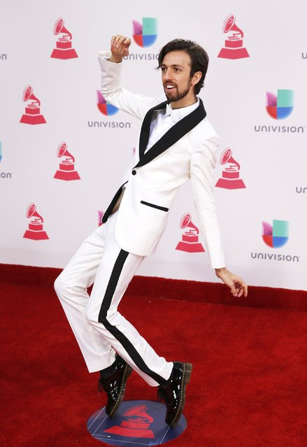 Esteman arrives at the 17th Annual Latin Grammy Awards in Las Vegas, Nevada, U.S., November 17, 2016. (Photo by Steve Marcus/Reuters)