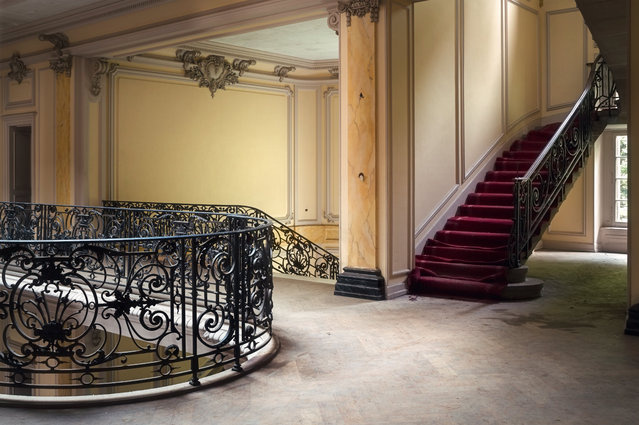 This French staircase retains its charm. (Photo by Roman Robroek/South West News Service)