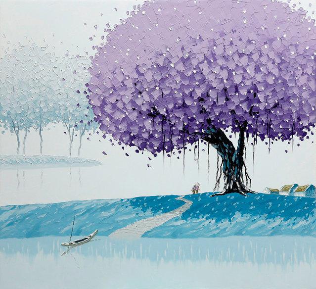 Vivid Paintings By Phan Thu Trang
