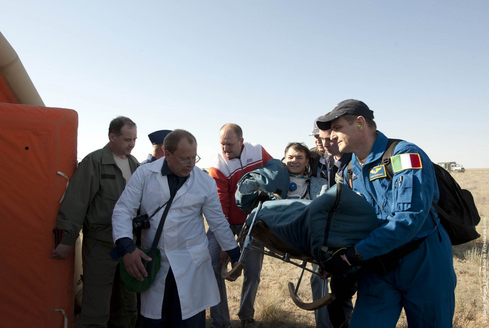 Russia's Soyuz TMA-20 Crew Returns From International Space Station