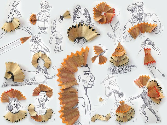 Food In Faces By Victor Nunes