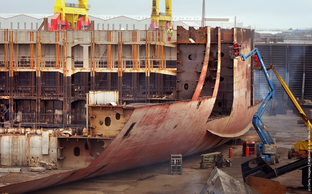 The Ending Of Life Of The Cargo Ship