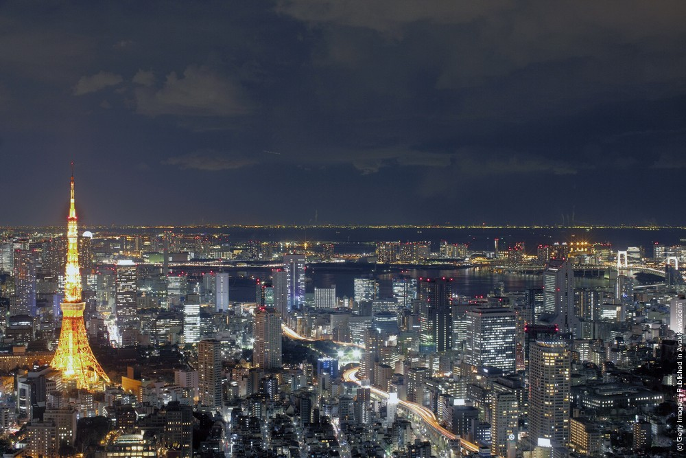 A General View of Tokyo in High Resolution