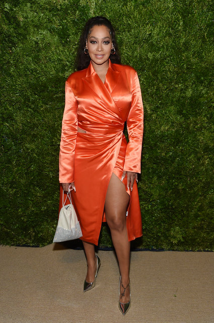 La La Anthony attends the CFDA / Vogue Fashion Fund 2019 Awards at Cipriani South Street on November 04, 2019 in New York City. (Photo by Jamie McCarthy/Getty Images)