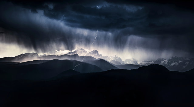 Landscape category winner: A Stormy Day by Ales Krivec (Slovenia). (Photo by Ales Krivec/2019 Nature Photographer of the Year)