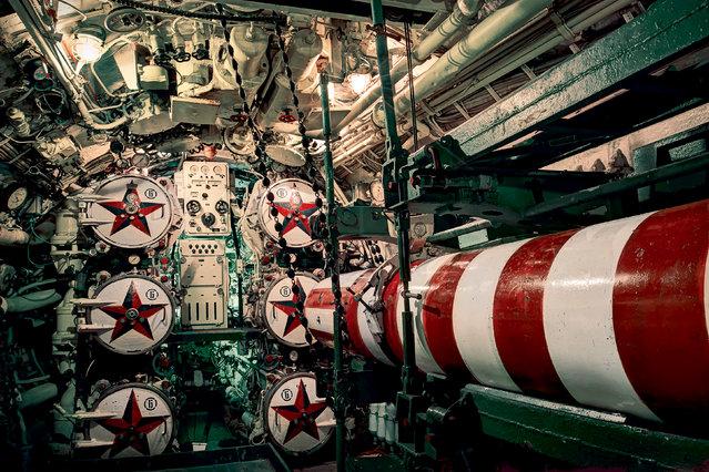 "Soviet Submarine, ""Black Widow"". (Photo by Rebecca Bathory)"