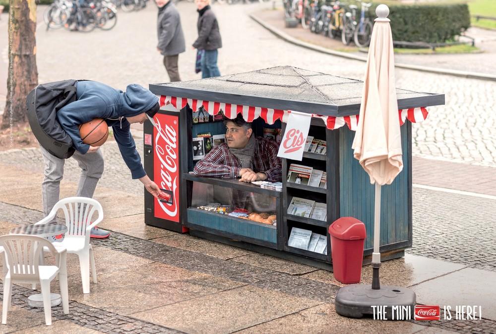 Mini Coca-Cola In Mini Kiosk