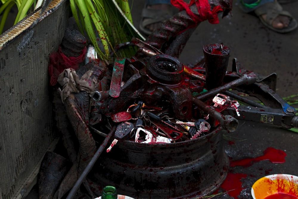 Aannual Prayer and Sacrifice Celebration in Nigeria