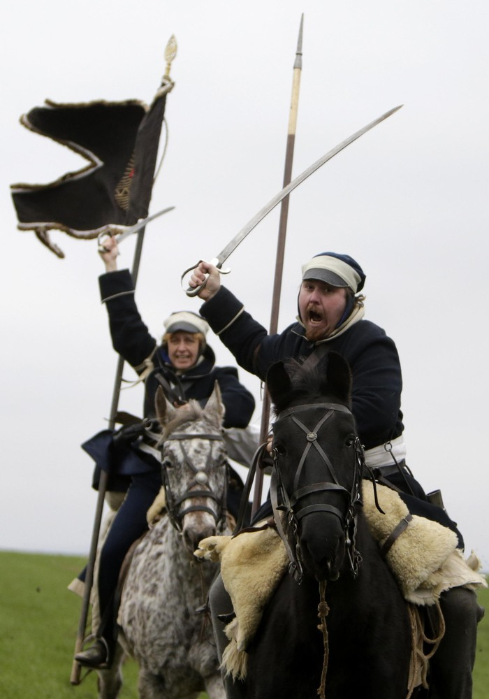 Battle Re-Enactment – Napoleon at Austerlitz