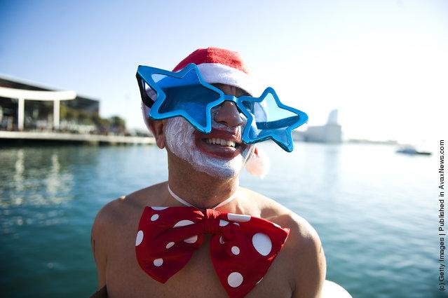 Barcelona's Traditional Christmas Swimming Cup