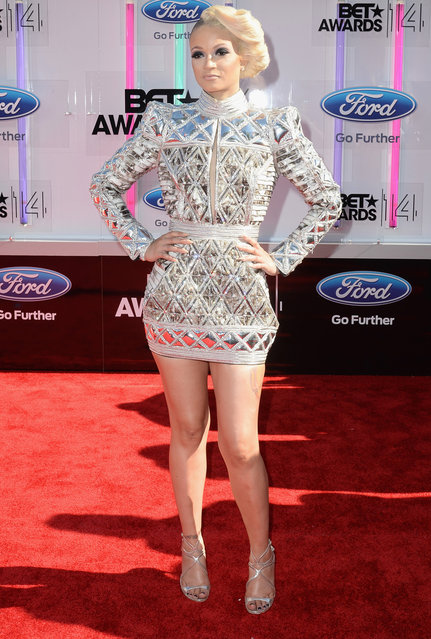 Rapper Charli Baltimore attends the BET AWARDS '14 at Nokia Theatre L.A. LIVE on June 29, 2014 in Los Angeles, California. (Photo by Earl Gibson III/Getty Images for BET)