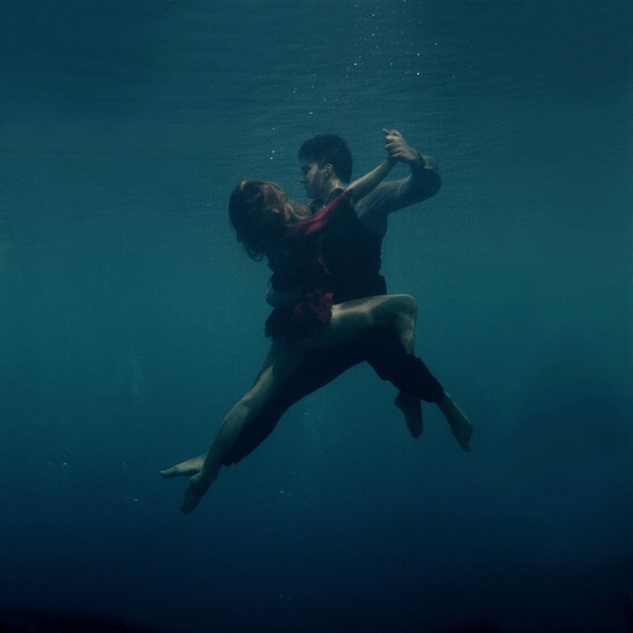Dancing the Tango Underwater by Katerina Bodrunova